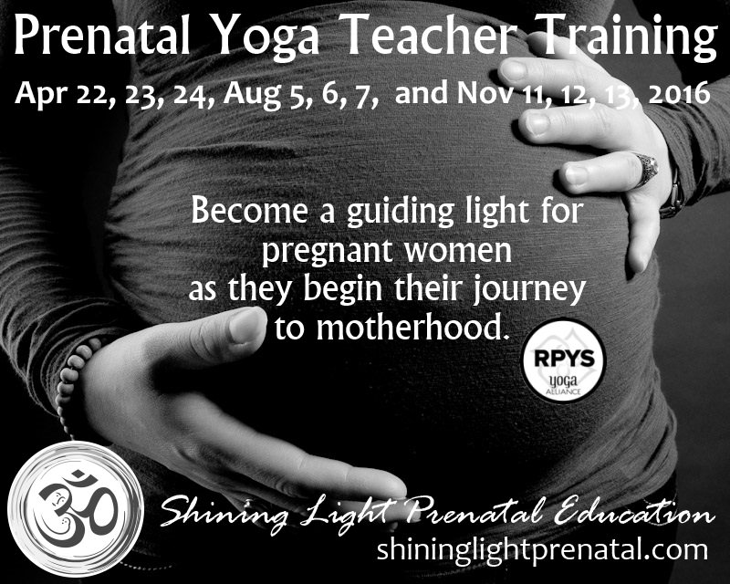 Prenatal Yoga Teacher Training, Pittsburgh