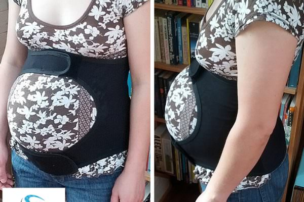 Back pain relief for pregnancy with Spand-Ice