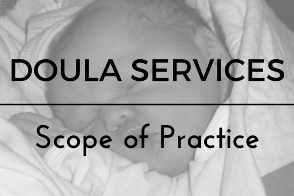 Doula Scope of practice