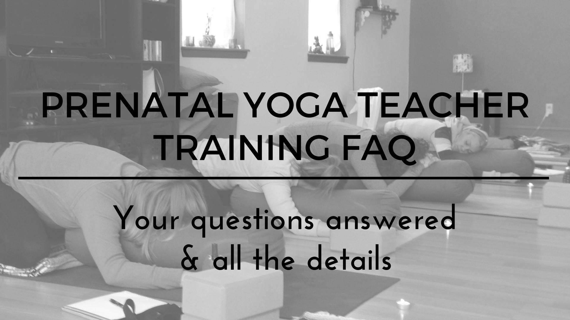 Details Prenatal Yoga Teacher Training Shining Light
